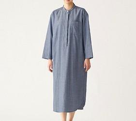 睡衣推薦推介男女睡衣套裝日系可愛日本居家服品牌MUJI二重紗系列