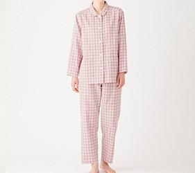 睡衣推薦推介男女睡衣套裝日系可愛日本居家服品牌MUJI腋下無縫線系列