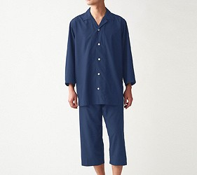 睡衣推薦推介男女睡衣套裝日系可愛日本居家服品牌MUJI快乾系列很適合旅行