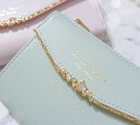 皮夾錢包品牌推薦推介顏色日系甜美小資女送禮必買日系甜美風格Samantha Thavasa