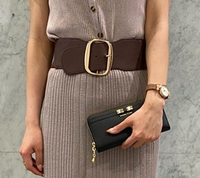 皮夾錢包品牌推薦推介顏色日系甜美小資女送禮必買日系甜美風格Samantha Thavasa甜美的造型可當作手包