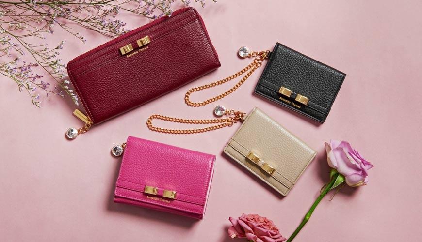 皮夾錢包品牌推薦推介顏色日系甜美小資女送禮必買日系甜美風格盡在Samantha Thavasa