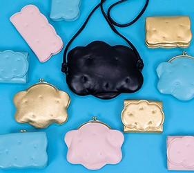 皮夾錢包品牌推薦推介顏色日系甜美小資女送禮必買雲朵圓點水果打造可愛造型TSUMORI CHISATO雲朵造型錢包零錢包