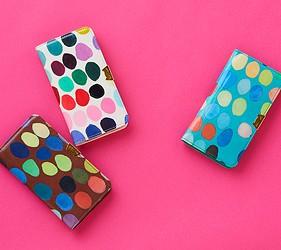 皮夾錢包品牌推薦推介顏色日系甜美小資女送禮必買雲朵圓點水果打造可愛造型TSUMORI CHISATO圓點系列鮮豔又可愛