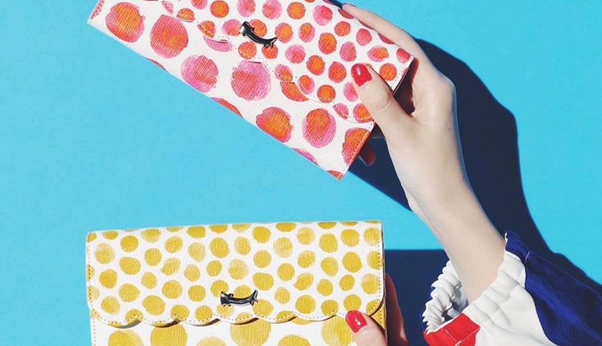 皮夾錢包品牌推薦推介顏色日系甜美小資女送禮必買雲朵圓點水果打造可愛造型TSUMORI CHISATO