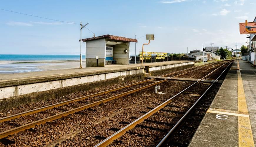 长崎铁道一日游推荐推介超美海景岛原电车近郊打卡泡温泉超幸福行程懒人包其中一个站