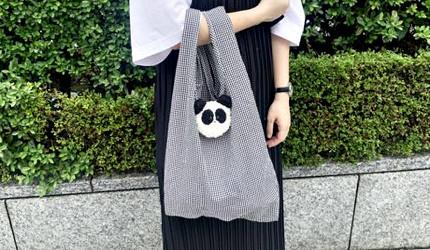 摺疊環保購物袋推薦推介日系動物設計超可愛立體剪裁容量大好收納動物系列張開的狀態