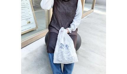 摺疊環保購物袋推薦推介日系動物設計超可愛立體剪裁容量大好收納刺繡系列張開的狀態