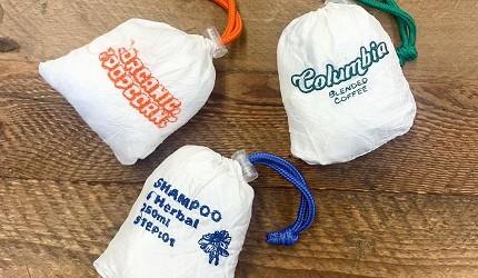 摺疊環保購物袋推薦推介日系動物設計超可愛立體剪裁容量大好收納刺繡系列收好的狀態