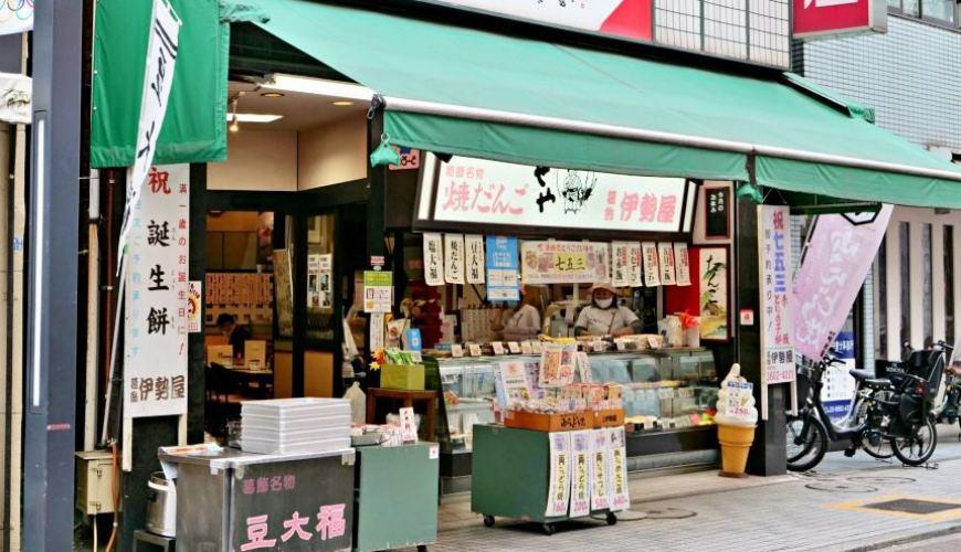 東京老街柴又景點推薦推介下町龜有必去商店街淺草到烏龍派出所散策的銅鑼燒店