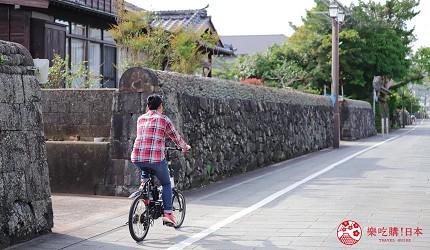 日本最美離島長崎五島360度無敵海景超療癒福江島2天1夜行程推薦推介騎車漫步在武家屋敷通上