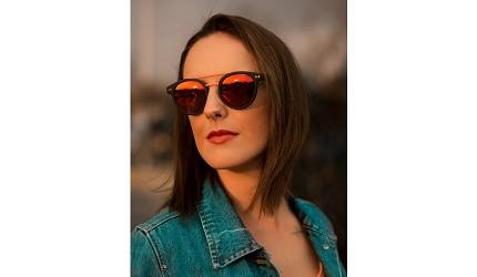 太陽眼鏡墨鏡推薦推介度數顏色品牌展示倒三角臉圖