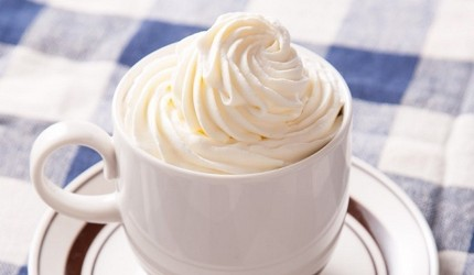 日本「鲜奶油」(生クリーム)示意图