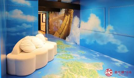 日本最美離島長崎五島360度無敵海景超療癒福江島2天1夜行程推薦推介山本二三美術館天空和雲朵的房間