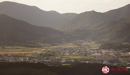日本最美離島長崎五島360度無敵海景超療癒福江島2天1夜行程推薦推介鬼岳遠處的福江城市遠景