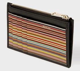皮夾錢包品牌推薦推介顏色日系甜美小資女送禮必買內心小叛逆男士最愛Paul Smith短夾零錢卡夾條紋的設計