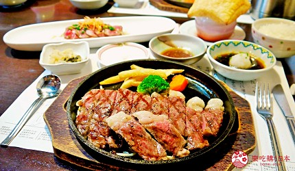 佐賀景點推薦嬉野溫泉美食ぎゅう丸牛排套餐