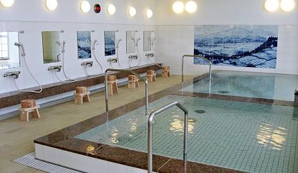 佐賀景點推薦嬉野溫泉西博爾德之湯的大眾浴池