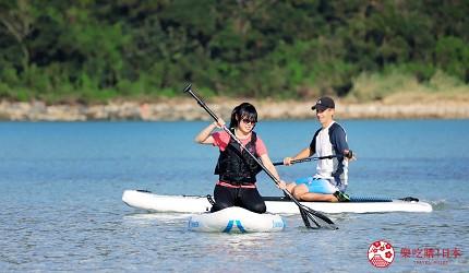 日本最美离岛长崎五岛360度无敌海景超疗癒福江岛2天1夜行程推荐推介在划水板上划行
