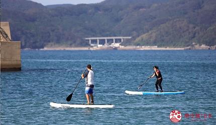 日本最美離島長崎五島360度無敵海景超療癒福江島2天1夜行程推薦推介五島清澈乾淨的海灘教練的指導SUP