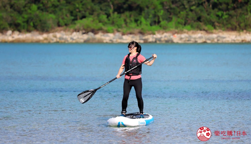 日本最美离岛长崎五岛360度无敌海景超疗癒福江岛2天1夜行程推荐推介SUP立桨划船体验