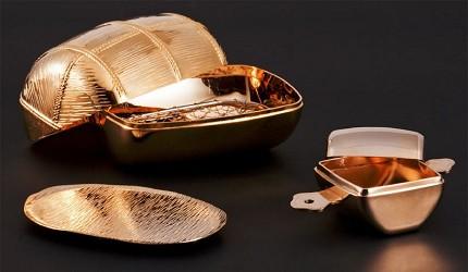 收藏酒具送禮推薦推介新潟燕商事鍍金酒壺酒杯組喝日本酒最適合的鍍金商品