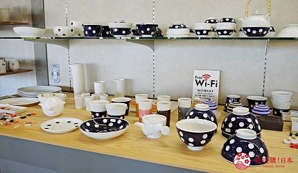 佐賀景點推薦嬉野溫泉的名產肥前吉田燒陶瓷