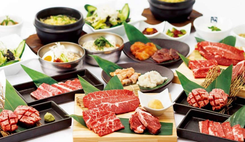 日本「連鎖燒肉店」好吃排名 TOP 7「牛角」的餐點形象照