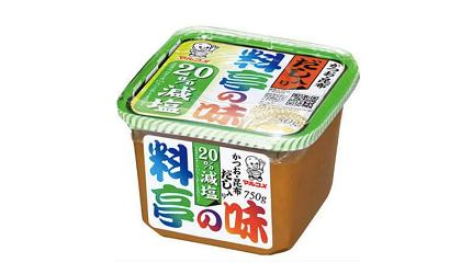 日本必買味噌推薦味噌醬推介丸米料亭之味減鹽味噌