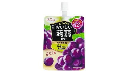 日本零食推薦推介低卡蒟蒻果凍啫喱Tarami蒟蒻果凍飲