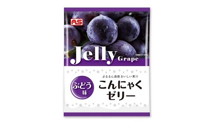 日本零食推薦推介低卡蒟蒻果凍啫喱ASFOOD擠壓式果凍