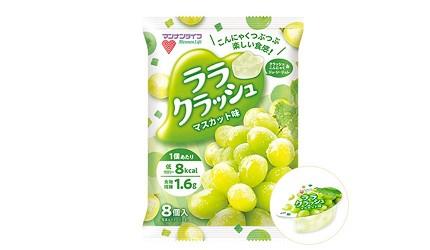 日本零食推薦推介低卡蒟蒻果凍啫喱MannanlifeLala Crush果凍