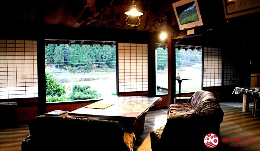 鳥取縣必去景點推薦推介鬼太郎列車大山3天2夜行程3日2夜自由行懶人包體驗型農家民宿Katsumiya二樓的休憩空間