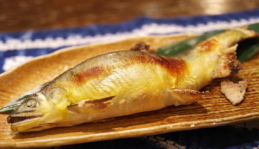 烤魚示意圖