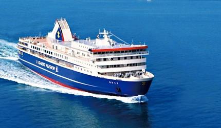 新潟旅行冬天自由行程景點推薦推介的交通辦法佐渡汽船
