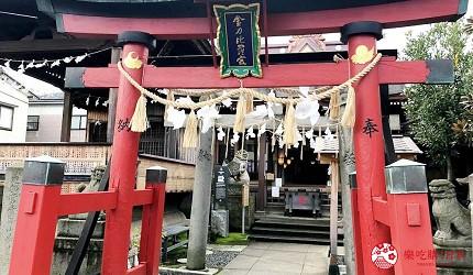 新潟旅行冬天自由行程景點推薦推介的金刀比羅神社入口