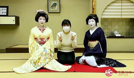 新潟旅行冬天自由行程景點推薦推介美食餐廳的割烹料理專門店內藝伎表演