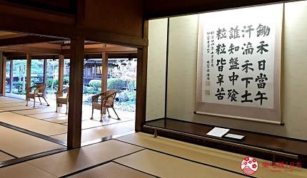 新潟旅行冬天自由行程景點推薦推介的北方文化博物館內觀