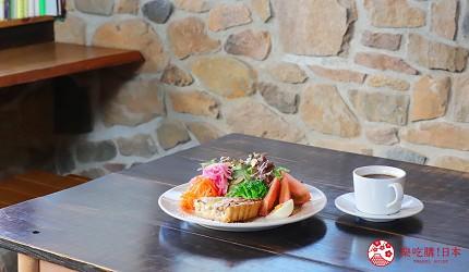長崎軍艦島自由行自駕遊roadtrip公路旅行必去景點推薦推介必吃必食美食絕景打卡攻略Café OZIMOC法式鹹派沙拉與黑咖啡