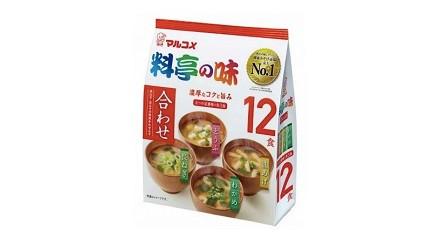 日本必買味噌推薦味噌醬推介丸米料亭之味一休即食味噌湯
