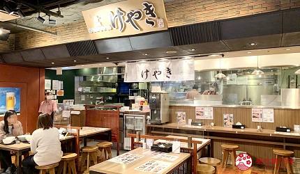 北海道新千歲機場拉麵小路味噌拉麵專賣店keyaki