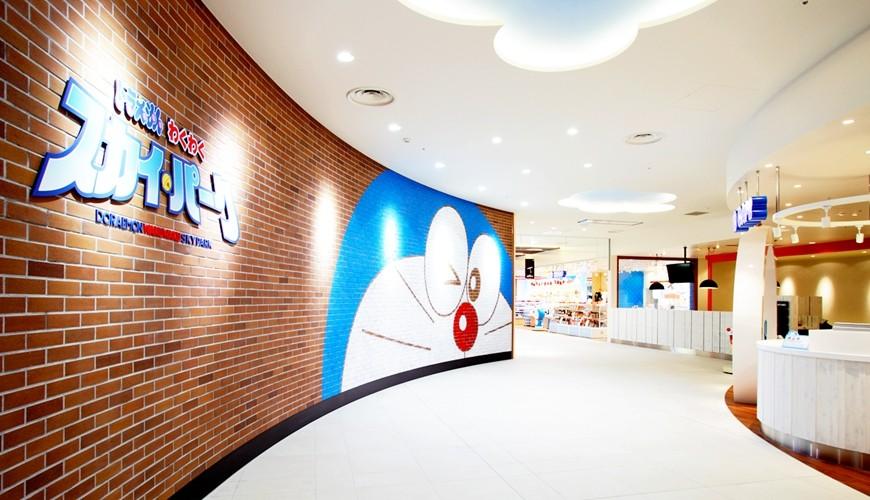 北海道新千歲機場哆啦a夢空中樂園外觀