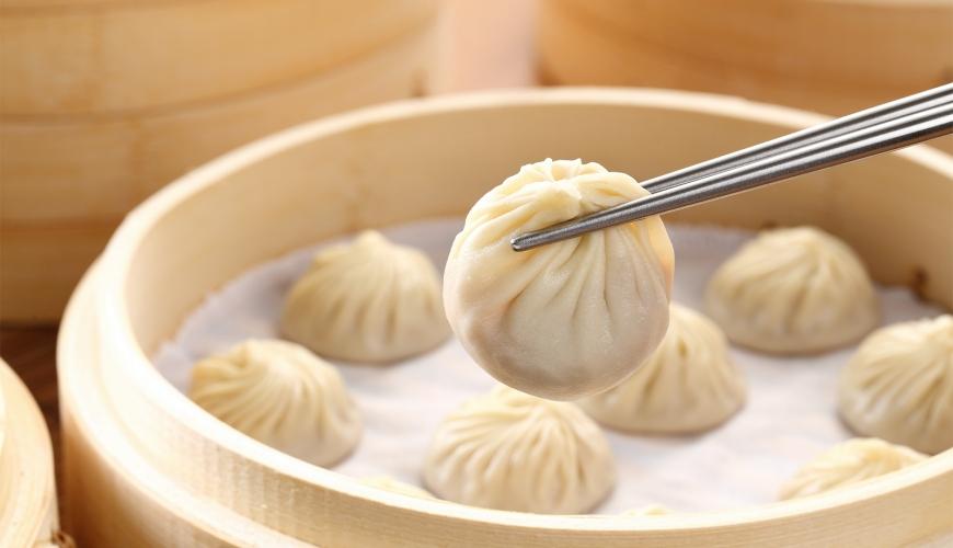 台灣料理米其林必比登推薦鼎泰豐小籠包(しょうろんぽう)示意圖