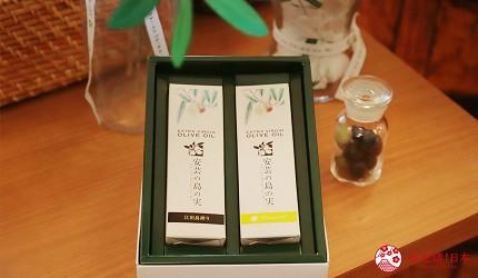 廣島景點推薦江田島市橄欖工廠的人氣橄欖油禮盒