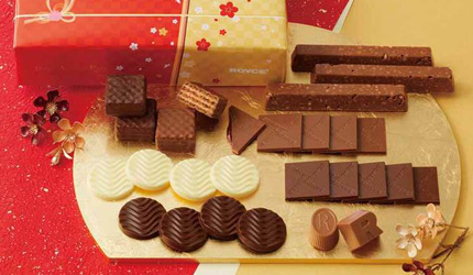 日本北海道人氣品牌ROYCE限量版巧克力禮盒組推薦新年送禮