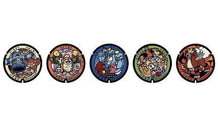 奈良斑鳩町精靈寶可夢人孔蓋