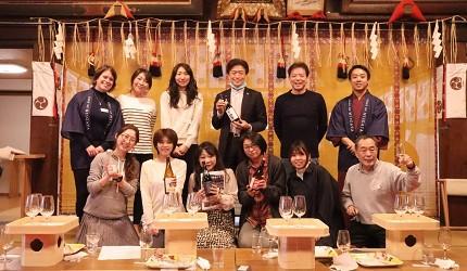 新潟旅行冬天自由行程景點推薦推介的品酒活動