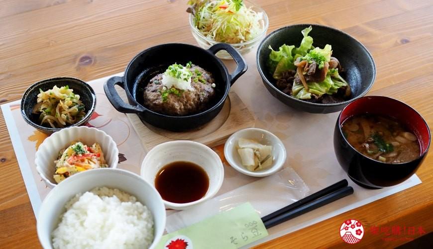 島根自由行必吃必食美食推薦推介島根和牛排山豬肉圍爐裏道地料理懷石料理日本製餐酒紅白酒莊蠶豆餐廳的山豬肉定食套餐