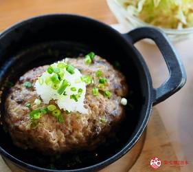 島根自由行必吃必食美食推薦推介島根和牛排山豬肉圍爐裏道地料理懷石料理日本製餐酒紅白酒莊蠶豆餐廳的山豬肉漢堡排