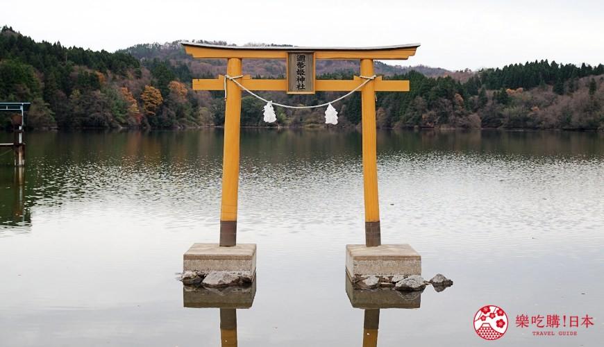 岛根景点推荐推介自驾游行程租车自由行绝景旅游神社水中鸟居